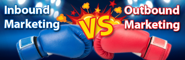 Inbound Marketing vs Outbound Marketing What's the difference?| Small Screen Producer Inbound Marketing Houston