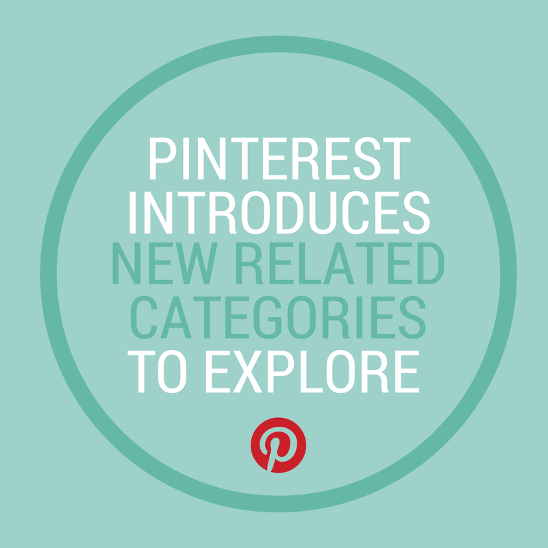 Pinterest Introduces New Related Interest Categories to Explore