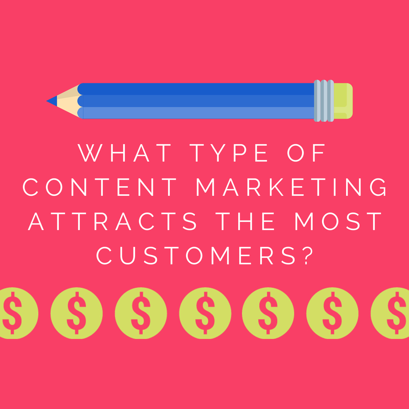 What Type of Content Marketing Attracts the Most Customers?