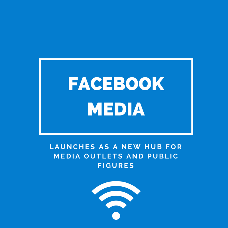 Facebook Media Launches as a New Hub for Media Outlets and Public Figures | Small Screen Producer Digital and Inbound Marketing Agency Houston